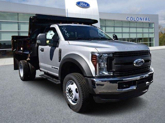 2019 F-550 Regular Cab DRW 4x4, Iroquois Brave Series Steel Dump Body #N7794 - photo 1