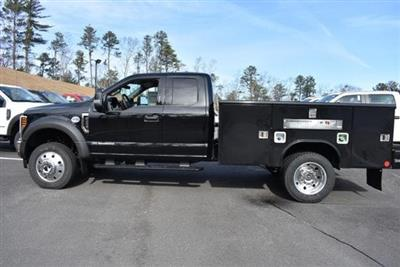 2019 F-450 Super Cab DRW 4x4, Reading Classic II Aluminum  Service Body #N7799 - photo 6