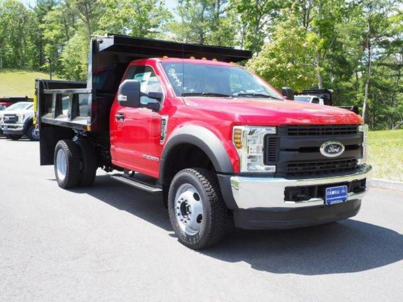 2019 F-550 Regular Cab DRW 4x4, Iroquois Brave Series Steel Dump Body #N7848 - photo 3