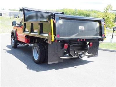 2019 F-550 Regular Cab DRW 4x4, Iroquois Brave Series Steel Dump Body #N7848 - photo 2