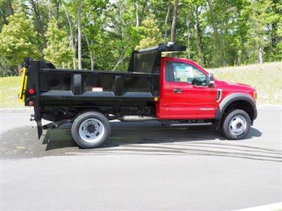 2019 Ford F-550 Regular Cab DRW 4x4, Iroquois Brave Series Steel Dump Body #N7848 - photo 2