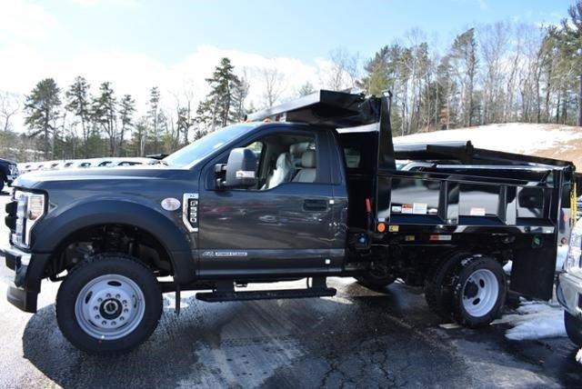 2019 F-550 Regular Cab DRW 4x4,  Iroquois Brave Series Steel Dump Body #N7850 - photo 6
