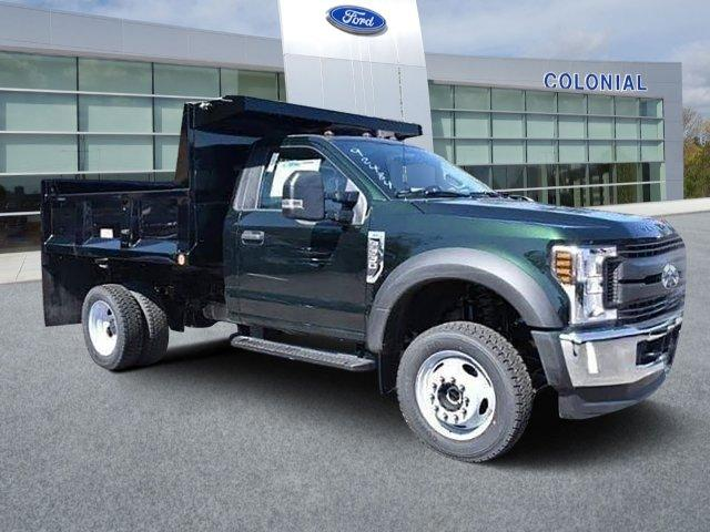 2019 F-550 Regular Cab DRW 4x4, Iroquois Brave Series Steel Dump Body #N7851 - photo 1