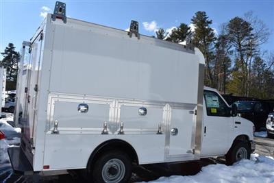 2018 E-350 4x2,  Dejana Truck & Utility Equipment DuraCube Max Service Utility Van #N7881 - photo 2