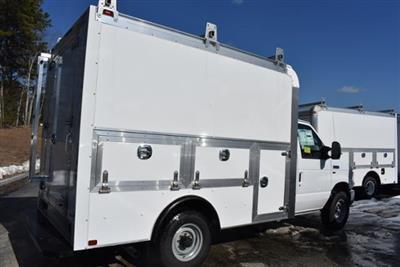 2018 E-350 4x2,  Dejana Truck & Utility Equipment DuraCube Max Service Utility Van #N7882 - photo 2