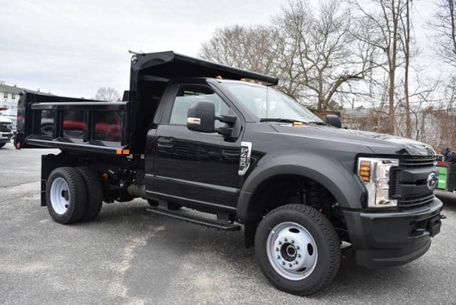 2019 F-450 Regular Cab DRW 4x4, Air-Flo Pro-Class Dump Body #N8041 - photo 3