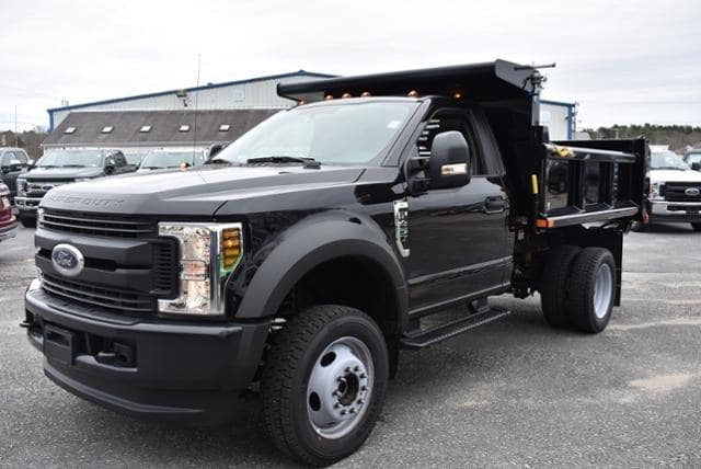 2019 F-450 Regular Cab DRW 4x4, Air-Flo Pro-Class Dump Body #N8041 - photo 5