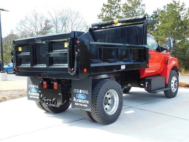 2019 F-650 Regular Cab DRW 4x2,  Crysteel Dump Body #N8095 - photo 1