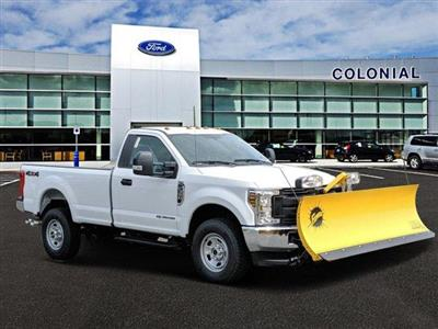 2019 F-350 Regular Cab 4x4,  Fisher Snowplow Pickup #N8104 - photo 1