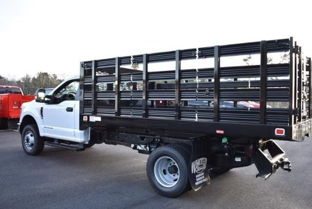 2019 Ford F-350 Regular Cab DRW 4x4, Knapheide Value-Master X Stake Bed #N8105 - photo 3