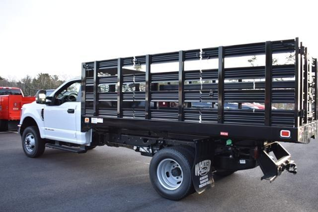 2019 F-350 Regular Cab DRW 4x4,  Knapheide Value-Master X Stake Bed #N8105 - photo 4
