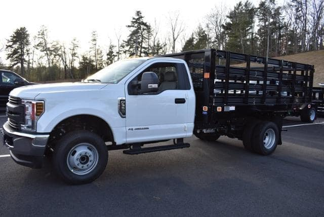 2019 F-350 Regular Cab DRW 4x4,  Knapheide Value-Master X Stake Bed #N8105 - photo 5