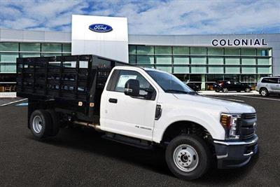 2019 F-350 Regular Cab DRW 4x4, Knapheide Value-Master X Stake Bed #N8105 - photo 2