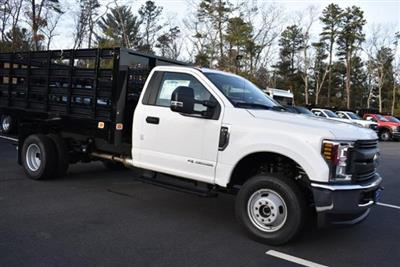 2019 F-350 Regular Cab DRW 4x4,  Knapheide Value-Master X Stake Bed #N8105 - photo 3