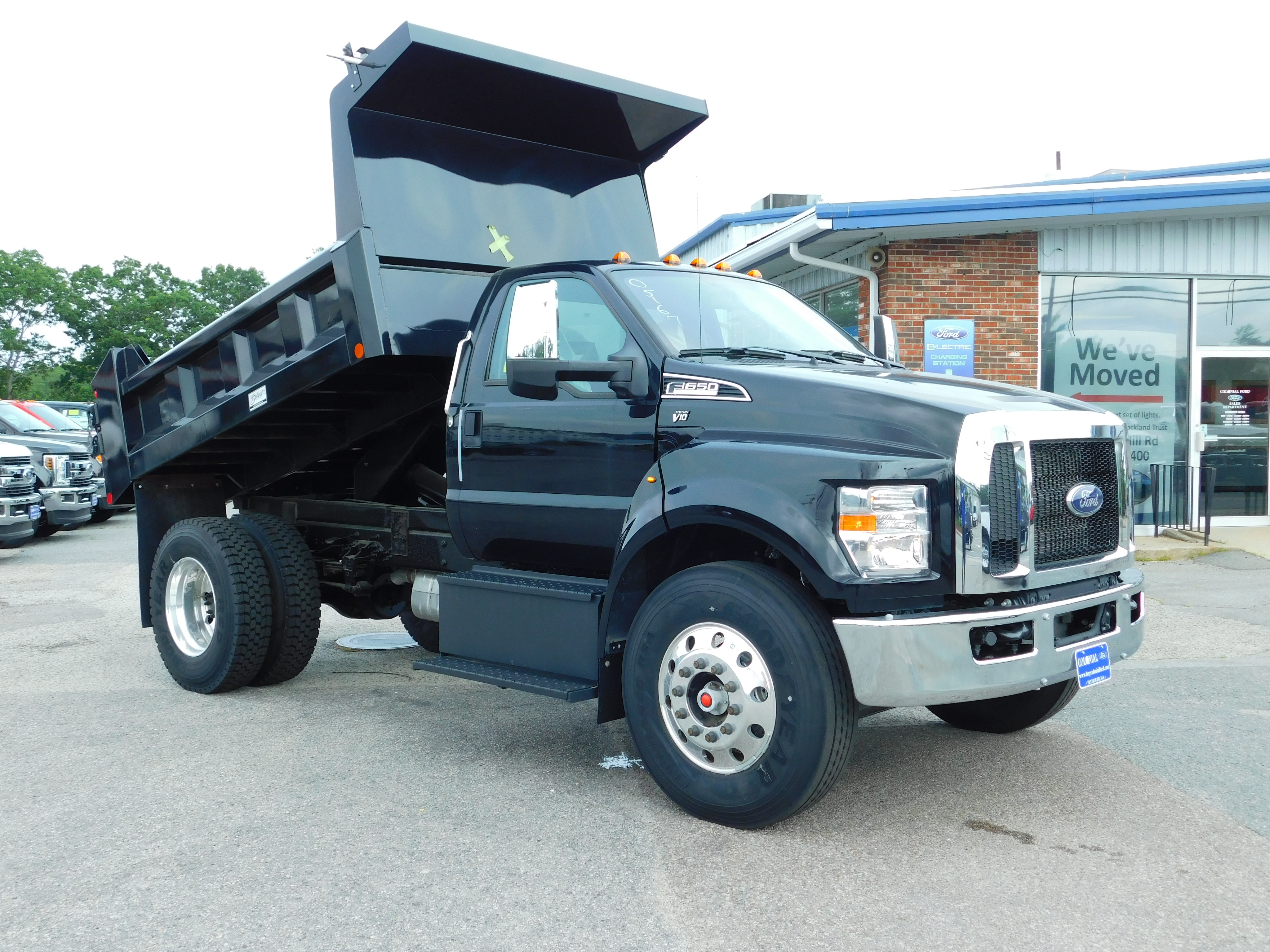 2019 F-650 Regular Cab DRW 4x2,  Crysteel Dump Body #N8110 - photo 1