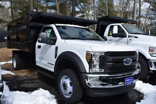 2019 F-550 Regular Cab DRW 4x4,  Rugby Landscape Dump #N8123 - photo 4