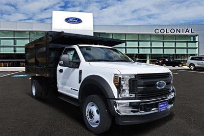 2019 F-550 Regular Cab DRW 4x4,  Rugby Landscape Dump #N8123 - photo 1