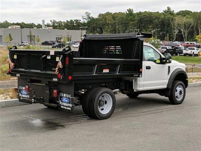 2019 F-550 Regular Cab DRW 4x4,  Reading Marauder Dump Body #N8151 - photo 2