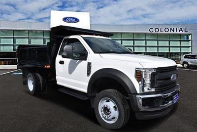 2019 F-550 Regular Cab DRW 4x4,  Air-Flo Pro-Class Dump Body #N8177 - photo 1