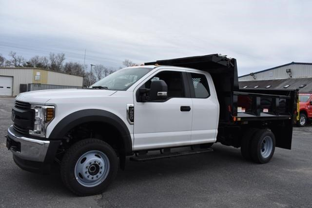 2019 Ford F-550 Super Cab DRW 4x4, Iroquois Brave Series Steel Dump Body #N8185 - photo 5