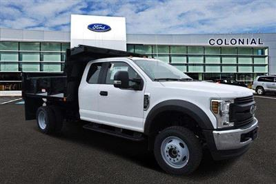 2019 Ford F-550 Super Cab DRW 4x4, Iroquois Brave Series Steel Dump Body #N8185 - photo 1