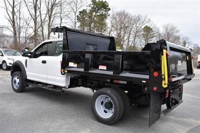 2019 Ford F-550 Super Cab DRW 4x4, Iroquois Brave Series Steel Dump Body #N8185 - photo 4