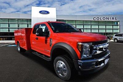 2019 F-550 Super Cab DRW 4x4,  Reading Classic II Aluminum  Service Body #N8186 - photo 1