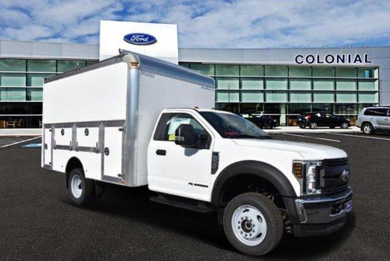2019 F-550 Regular Cab DRW 4x4, Dejana DuraCube Max Service Body #N8191 - photo 1
