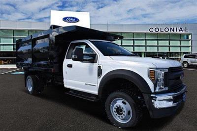 2019 F-550 Regular Cab DRW 4x4,  Rugby Landscape Dump #N8216 - photo 1