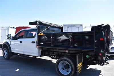 2019 F-550 Crew Cab DRW 4x4,  Air-Flo Pro-Class Dump Body #N8244 - photo 4