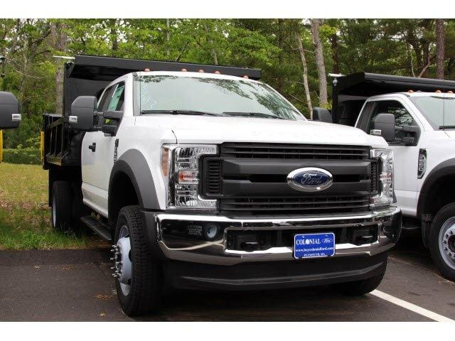 2019 F-550 Super Cab DRW 4x4, Iroquois Brave Series Steel Dump Body #N8252 - photo 3