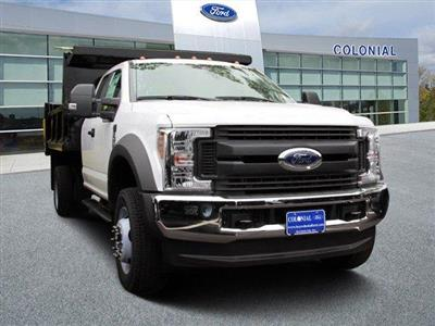2019 Ford F-550 Super Cab DRW 4x4, Iroquois Brave Series Steel Dump Body #N8252 - photo 1