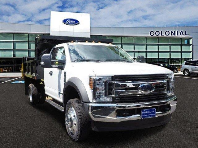 2019 F-550 Super Cab DRW 4x4,  Iroquois Brave Series Steel Dump Body #N8255 - photo 1