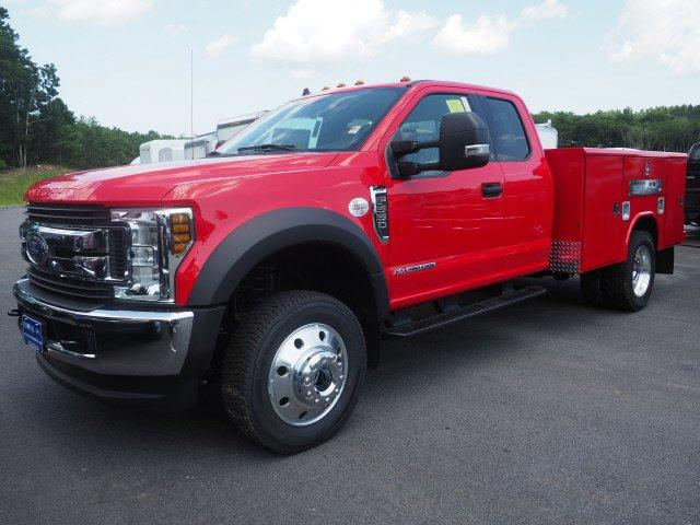 2019 F-550 Super Cab DRW 4x4,  Reading Classic II Aluminum  Service Body #N8258 - photo 3