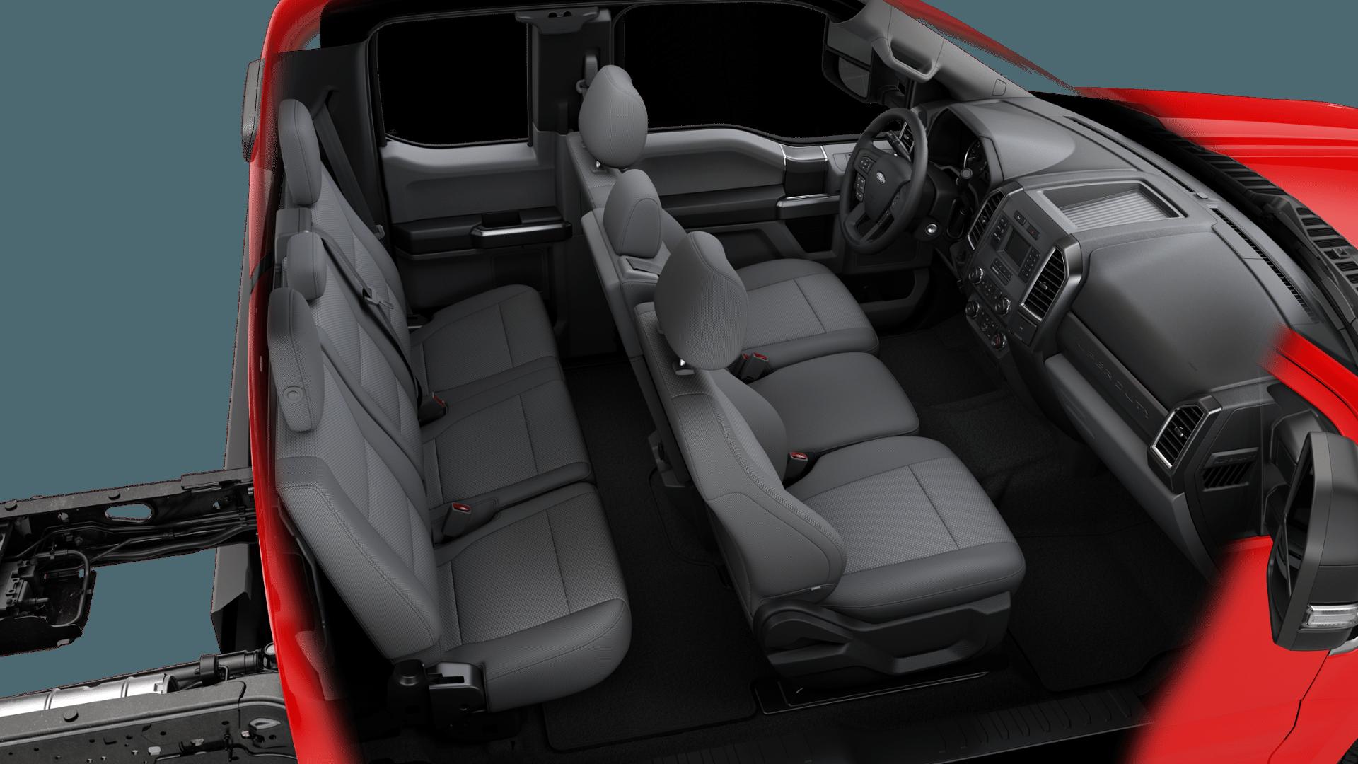 2019 F-550 Super Cab DRW 4x4,  Reading Classic II Aluminum  Service Body #N8258 - photo 6