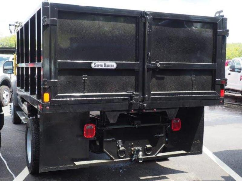 2019 F-550 Super Cab DRW 4x4,  SH Truck Bodies Landscape Dump #N8261 - photo 14