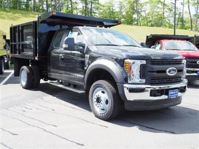 2019 F-550 Super Cab DRW 4x4,  SH Truck Bodies Landscape Dump #N8261 - photo 3
