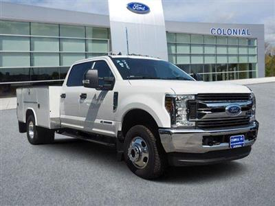2019 Ford F-350 Crew Cab DRW 4x4, Reading Classic II Aluminum  Service Body #N8268 - photo 1