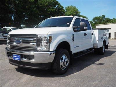 2019 Ford F-350 Crew Cab DRW 4x4, Reading Classic II Aluminum  Service Body #N8268 - photo 4