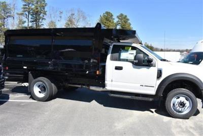2019 F-550 Regular Cab DRW 4x4, Rugby Landscape Dump #N8301 - photo 4