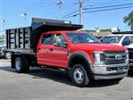 2019 F-550 Crew Cab DRW 4x4, Reading Landscaper SL Landscape Dump #N8326 - photo 18