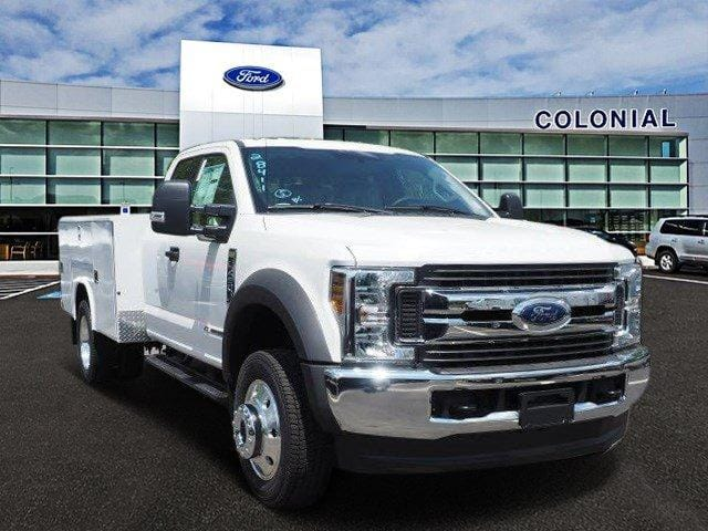 2019 F-450 Super Cab DRW 4x4,  Reading Classic II Aluminum  Service Body #N8333 - photo 1