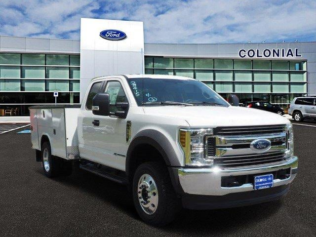 2019 F-550 Super Cab DRW 4x4, Reading Classic II Aluminum  Service Body #N8337 - photo 1