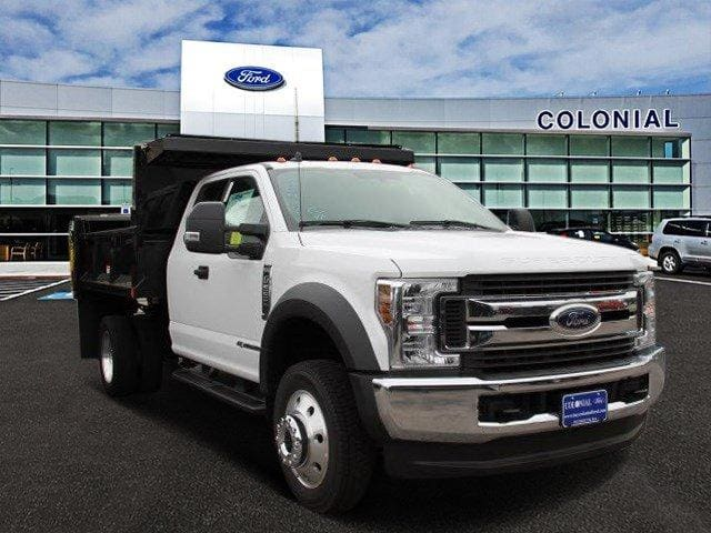 2019 F-550 Super Cab DRW 4x4,  Iroquois Brave Series Steel Dump Body #N8338 - photo 1