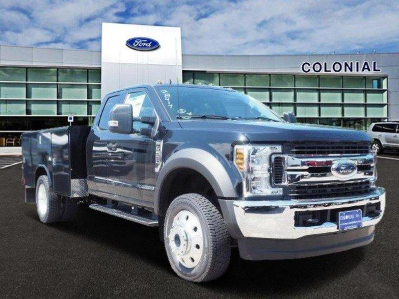 2019 F-550 Super Cab DRW 4x4, Reading Classic II Aluminum  Service Body #N8339 - photo 1