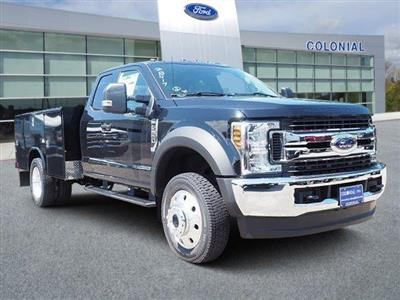 2019 Ford F-550 Super Cab DRW 4x4, Reading Classic II Aluminum  Service Body #N8339 - photo 1