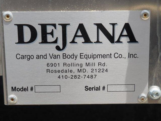 2019 E-350 4x2,  Dejana DuraCube Max Service Utility Van #N8476 - photo 11