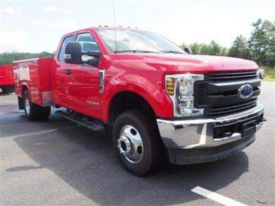 2019 F-350 Super Cab DRW 4x4, Reading Classic II Aluminum  Service Body #N8528 - photo 3