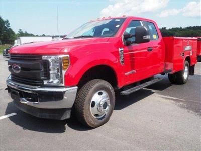 2019 F-350 Super Cab DRW 4x4, Reading Classic II Aluminum  Service Body #N8528 - photo 4