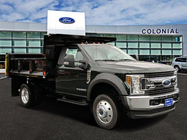2019 F-550 Regular Cab DRW 4x4, Iroquois Brave Series Steel Dump Body #N8535 - photo 1